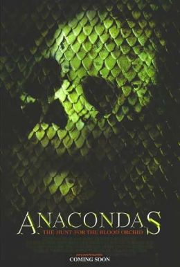 """Постер к фильму """"Анаконда 2: Охота за Проклятой орхидеей"""" /Anacondas: The Hunt for the Blood Orchid/ (2004)"""