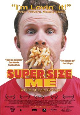 """Постер к фильму """"Двойная порция"""" /Super Size Me/ (2004)"""