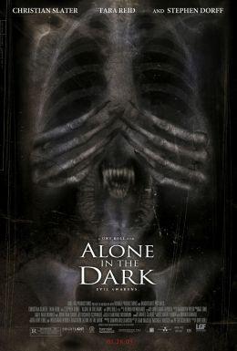 """Постер к фильму """"Один в темноте"""" /Alone in the Dark/ (2005)"""