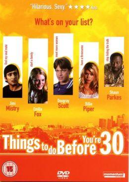 """Постер к фильму """"Успей сделать это до 30"""" /Things to Do Before You're 30/ (2004)"""