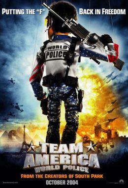 """Постер к фильму """"Отряд Америка: Всемирная полиция"""" /Team America: World Police/ (2004)"""
