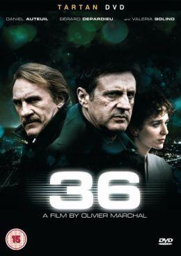 """Постер к фильму """"Набережная Орфевр, 36"""" /36 Quai des Orfevres/ (2004)"""