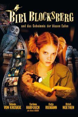 """Постер к фильму """"Биби - маленькая волшебница и тайна ночных птиц"""" /Bibi Blocksberg und das Geheimnis der blauen Eulen/ (2004)"""
