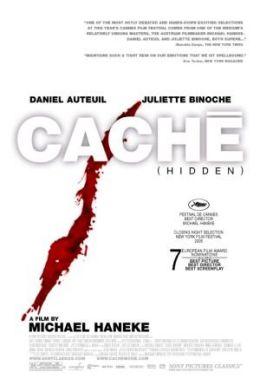 """Постер к фильму """"Скрытое"""" /Caché/ (2005)"""