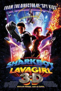 """Постер к фильму """"Приключения Шаркбоя и Лавы в 3-D"""" /The Adventures of Sharkboy and Lavagirl 3-D/ (2005)"""