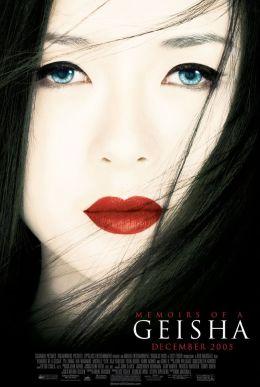 """Poster for the film """"Memoirs of a Geisha"""" / Memoirs of a Geisha / (2005)"""