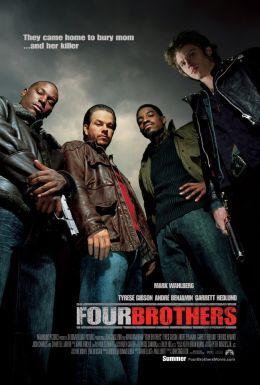 """Постер к фильму """"Кровь за кровь"""" /Four Brothers/ (2005)"""