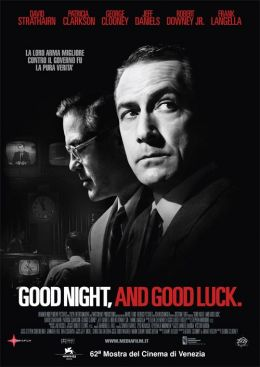 """Постер к фильму """"Доброй ночи и удачи"""" /Good Night, and Good Luck./ (2005)"""