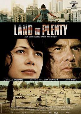 """Постер к фильму """"Земля изобилия"""" /Land of Plenty/ (2004)"""