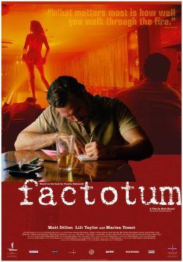 """Постер к фильму """"Фактотум"""" /Factotum/ (2005)"""