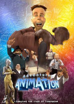 "Постер к фильму ""Боксер 3D"" /Adventures in Animation 3D/ (2004)"