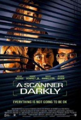 """Постер к фильму """"Помутнение"""" /A Scanner Darkly/ (2006)"""