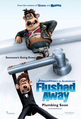 """Постер к фильму """"Смывайся!"""" /Flushed Away/ (2006)"""