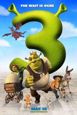 "Постер к фильму ""Шрэк Третий"" /Shrek the Third/ (2007)"