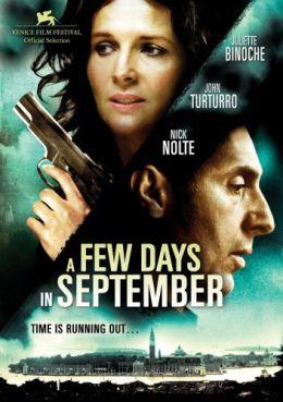 """Постер к фильму """"Несколько дней в сентябре"""" /Quelques jours en septembre/ (2006)"""