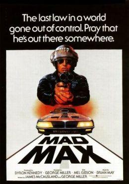 """Постер к фильму """"Безумный Макс"""" /Mad Max/ (1979)"""