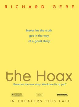 """Постер к фильму """"Мистификация"""" /The Hoax/ (2006)"""