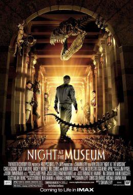 """Постер к фильму """"Ночь в музее"""" /Night at the Museum/ (2006)"""
