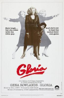 """Постер к фильму """"Глория"""" /Gloria/ (1980)"""