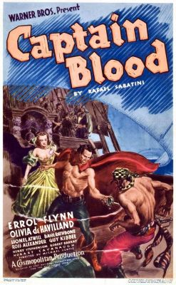 """Постер к фильму """"Одиссея капитана Блада"""" /Captain Blood/ (1935)"""