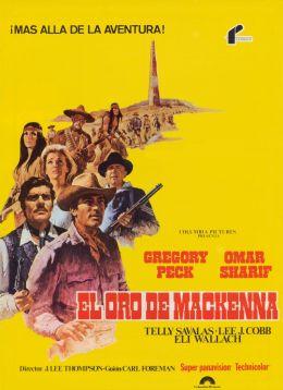"""Постер к фильму """"Золото Маккены"""" /Mackenna's Gold/ (1969)"""