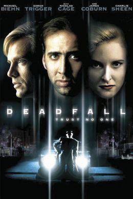 """Постер к фильму """"Смертельное падение"""" /Deadfall/ (1993)"""