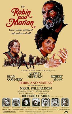 "Постер к фильму ""Робин и Мэриан"" /Robin and Marian/ (1976)"