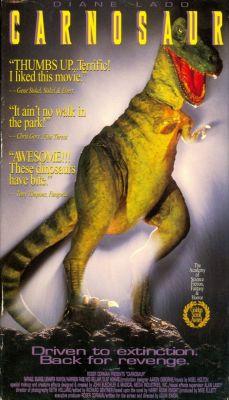 """Постер к фильму """"Карнозавр"""" /Carnosaur/ (1993)"""