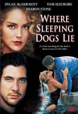 """Постер к фильму """"Где покоится зло"""" /Where Sleeping Dogs Lie/ (1991)"""