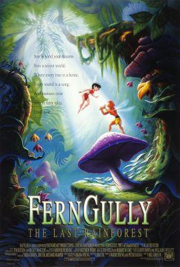"""Постер к фильму """"Долина папоротников: Последний тропический лес"""" /FernGully: The Last Rainforest/ (1992)"""