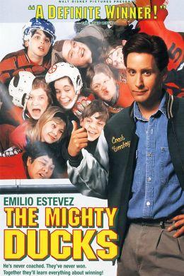 """Постер к фильму """"Могучие утята"""" /The Mighty Ducks/ (1992)"""