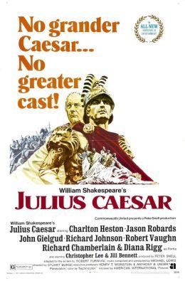 """Постер к фильму """"Юлий Цезарь"""" /Julius Caesar/ (1970)"""