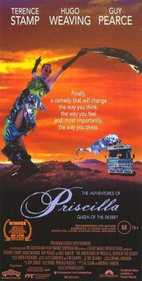 """Постер к фильму """"Приключения Присциллы, королевы пустыни"""" /Priscilla - Königin der Wüste/ (1994)"""