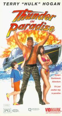 "Постер к фильму ""Гром в раю"" /Thunder in Paradise/ (1994)"