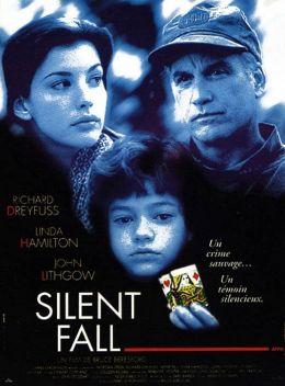"""Постер к фильму """"Безмолвная схватка"""" /Silent Fall/ (1994)"""