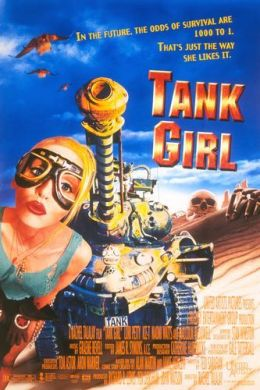 "Постер к фильму ""Танкистка"" /Tank Girl/ (1995)"