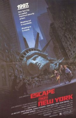 "Постер к фильму ""Побег из Нью-Йорка"" /Escape from New York/ (1981)"