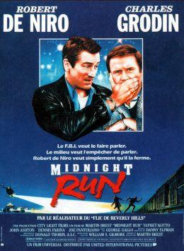 """Постер к фильму """"Успеть до полуночи"""" /Midnight Run/ (1988)"""