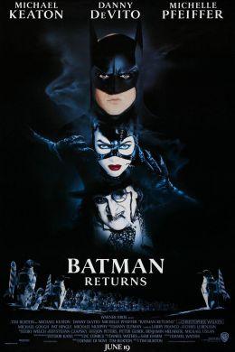 """Постер к фильму """"Бэтмен возвращается"""" /Batman Returns/ (1992)"""
