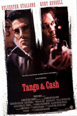 """Постер к фильму """"Танго и Кэш"""" /Tango & Cash/ (1989)"""