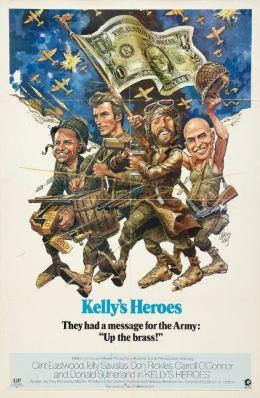 "Постер к фильму ""Герои Келли"" /Kelly's Heroes/ (1970)"