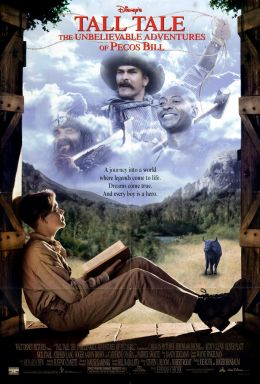 """Постер к фильму """"Легенды Дикого Запада: Невероятные приключения"""" /Tall Tale/ (1995)"""