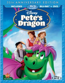 """Постер к фильму """"Дракон Пита"""" /Pete's Dragon/ (1977)"""