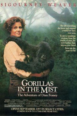 "Постер к фильму ""Гориллы в тумане"" /Gorillas in the Mist/ (1988)"