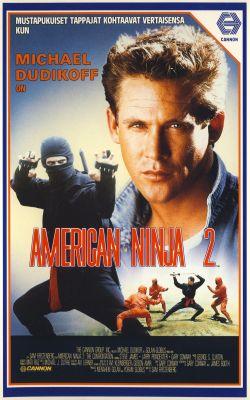 """Постер к фильму """"Американский ниндзя 2: Схватка"""" /American Ninja 2: The Confrontation/ (1987)"""