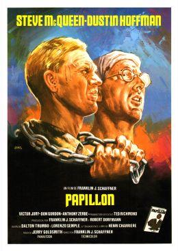 "Постер к фильму ""Мотылек"" /Papillon/ (1973)"
