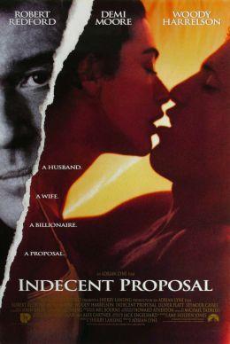 """Постер к фильму """"Непристойное предложение"""" /Indecent Proposal/ (1993)"""