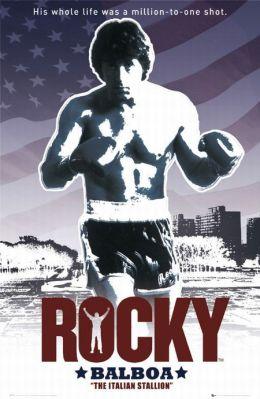 """Постер к фильму """"Рокки"""" /Rocky/ (1976)"""
