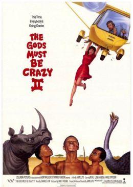 "Постер к фильму ""Боги, наверное, сошли с ума II"" /The Gods Must Be Crazy II/ (1989)"