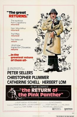 """Постер к фильму """"Возвращение розовой пантеры"""" /The Return of the Pink Panther/ (1975)"""